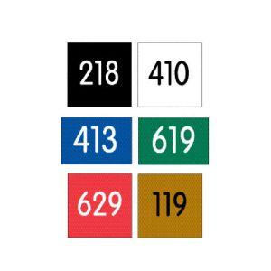 Custom Door Number Plates