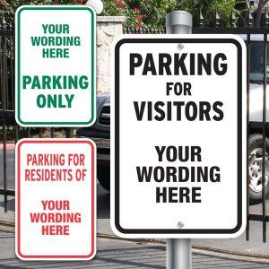Custom Aluminum Signs - Parking