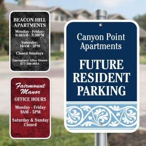 Custom Aluminum Signs - Full Color Sign - Rectangle
