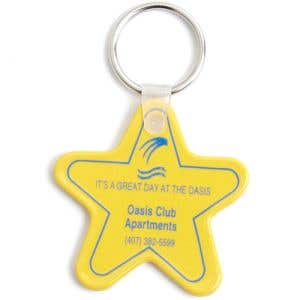 Custom Key Tag - Star Shape