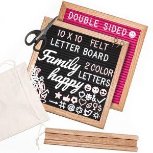 Double Sided Felt Letter Board