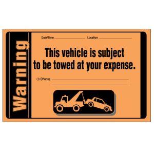 Parking Violation - Warning