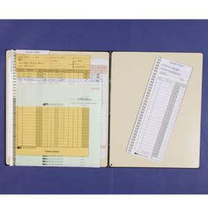 Folding Pegboard for Rental Systems-Green