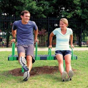 Outdoor Fitness Equipment - Bench Dip Station