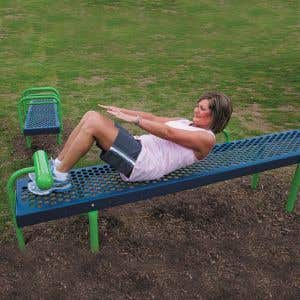 Outdoor Fitness Equipment - Sit Up Station