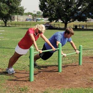 Outdoor Fitness Equipment - Push Up Station