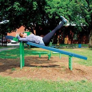 Outdoor Fitness Equipment -  Body Curl Station
