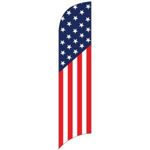 Wave Flags - American