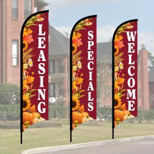 Wave Flag Kits - Autumn Harvest