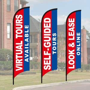 Wave Flag Kits - Standard - Patriotic