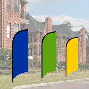 Mini Wave Flag Kits - Solid Colors