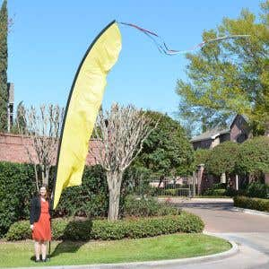 Windfeather Solid Flags - Flag Only