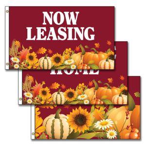 Horizontal Flags - Autumn Harvest