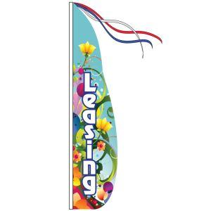 Wind Streamer Flag Only - Blue Decorative