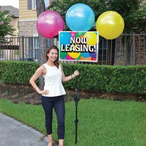 3 Balloon Bandit Sign Kit