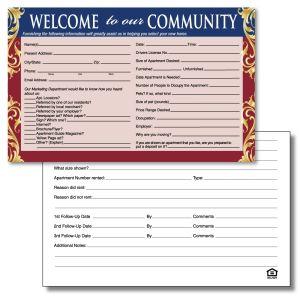 Guest Card - Regal Scroll