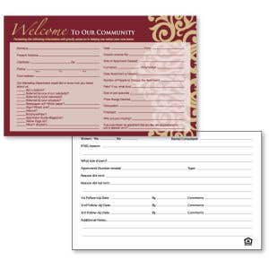 Guest Card - Gilded