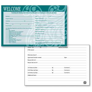 Guest Card - Flora