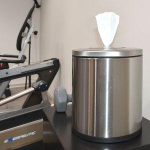 Tabletop Stainless Steel Wipes Dispenser