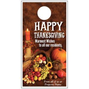 Thanksgiving Door Hanger - Harvest