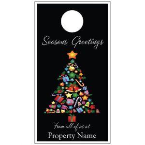 Holiday Door Hanger - Christmas Tree
