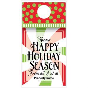 Holiday Door Hanger - Holiday Twist