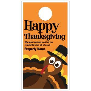 Thanksgiving Door Hanger - Thankful Turkey