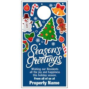 Holiday Door Hanger - Holiday Cheer