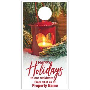 Holiday Door Hanger - Warm Glow