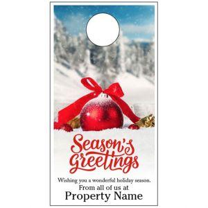 Holiday Door Hanger - Winter Wish
