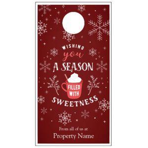 Holiday Door Hanger - Sweet Season