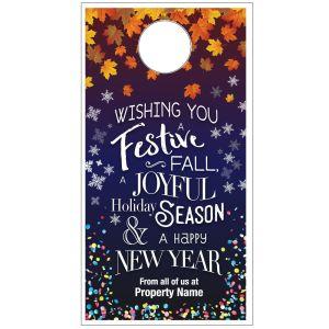 3 Seasons Door Hanger - Fall to NYE