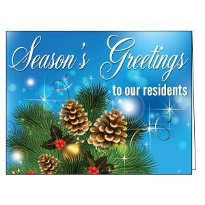 Holiday Card - Holiday Greenery
