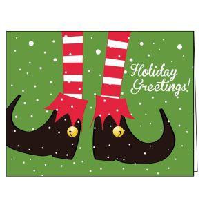 Holiday Card - Holiday Elf