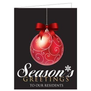 Holiday Card - Classy Ornament