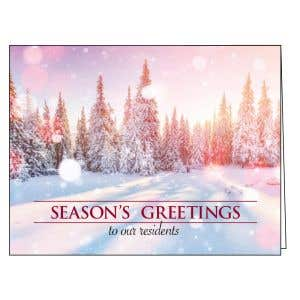 Holiday Card - Peaceful Mornings