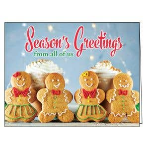 Holiday Card - Gingerbread Wishes