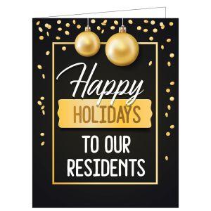 Holiday Card - Holiday Glitz