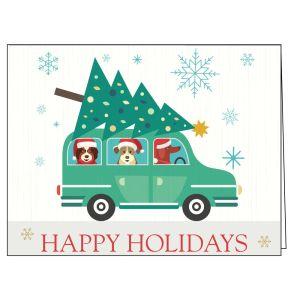 Holiday Card - Holiday Pups