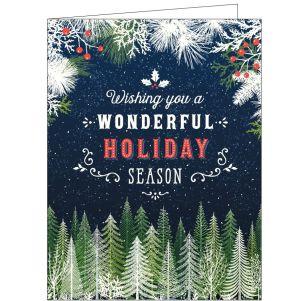 Holiday Card - Winter Night