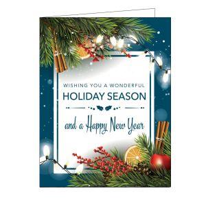 Holiday Card - Traditional Christmas
