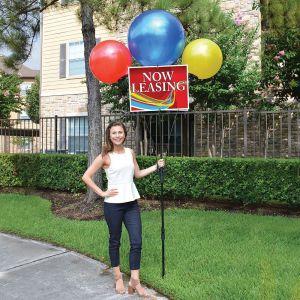 JUMBO 3 Balloon Bandit Sign Kit