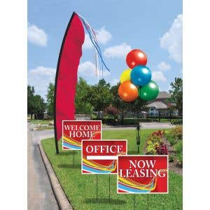 Budget Windfeather Flag Curb Appeal Kits