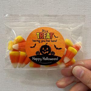 Resident Appreciation Candy Favors - Halloween Treat
