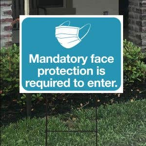 Bandit Sign Kit - Face Protection