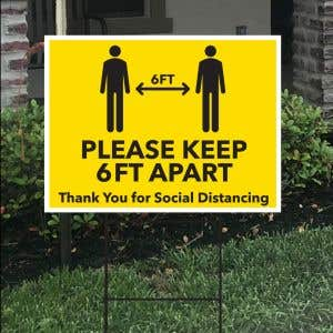 Bandit Sign Kit - Social Distancing