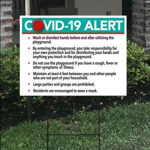 Bandit Sign Kit - COVID-19 Alert