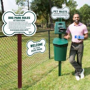 Everything you need to set up your dog park!