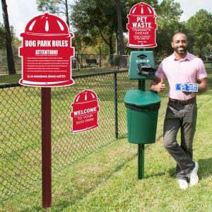 Die-Cut Dog Park Kit - Hydrant