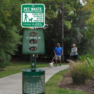 Combo Pet Waste Station